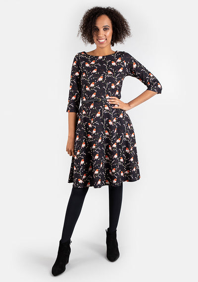 Robin Print Dress