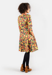 Aubrey Autumn Leaves Dress