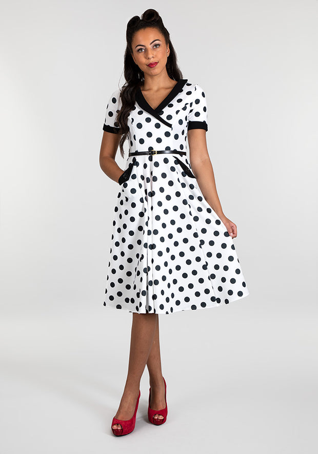 Josie Vintage Spot Dress
