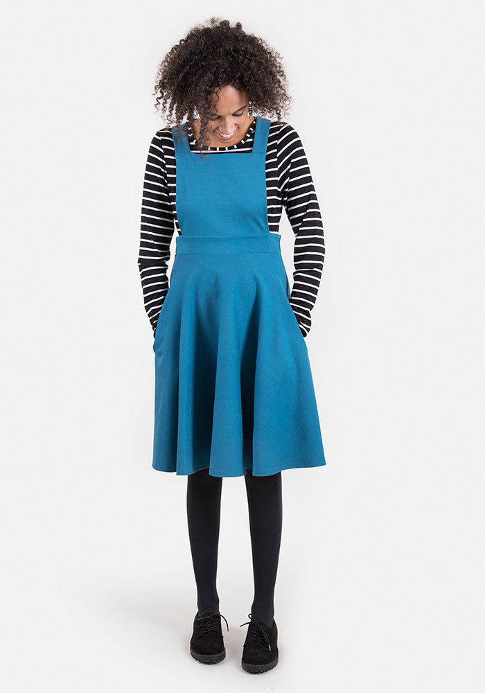 Polly Teal Pinafore & Top