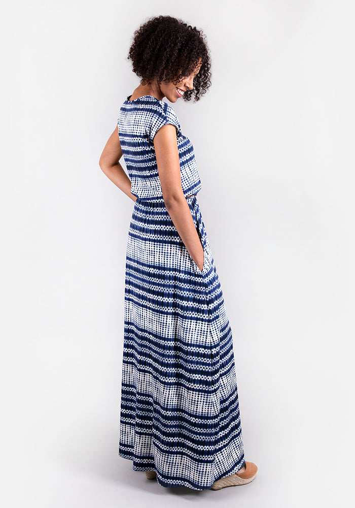 Tamsin Tie Dye Maxi Dress