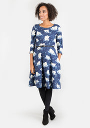 Alaska Children's Polar Bear Print Dress