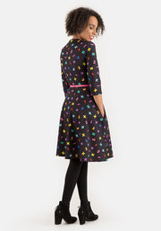 Joanne Maths Print Dress