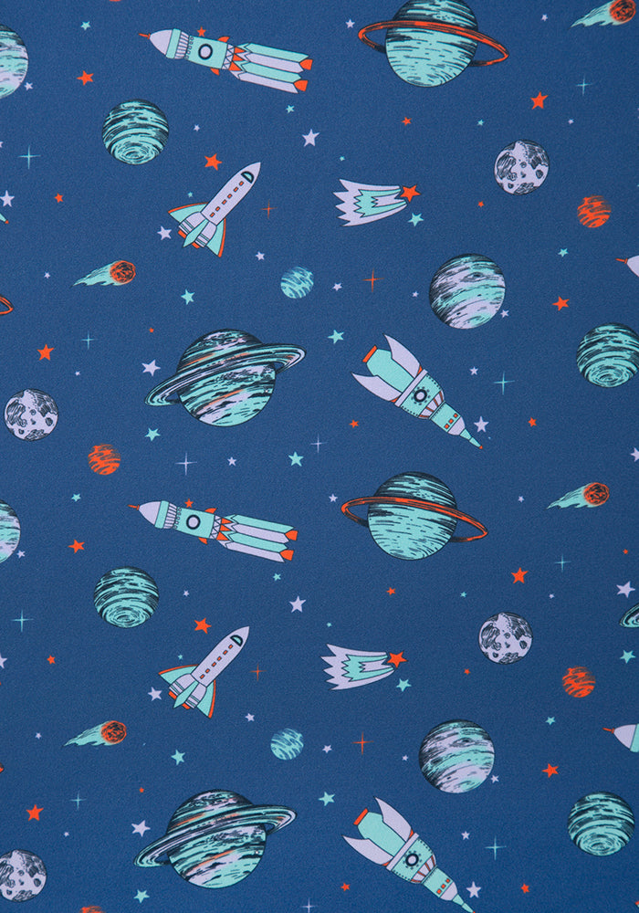 Venus Planet & Space Print Dress