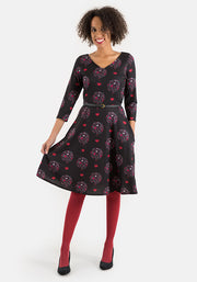 Amara Hot Air Balloon Print Dress