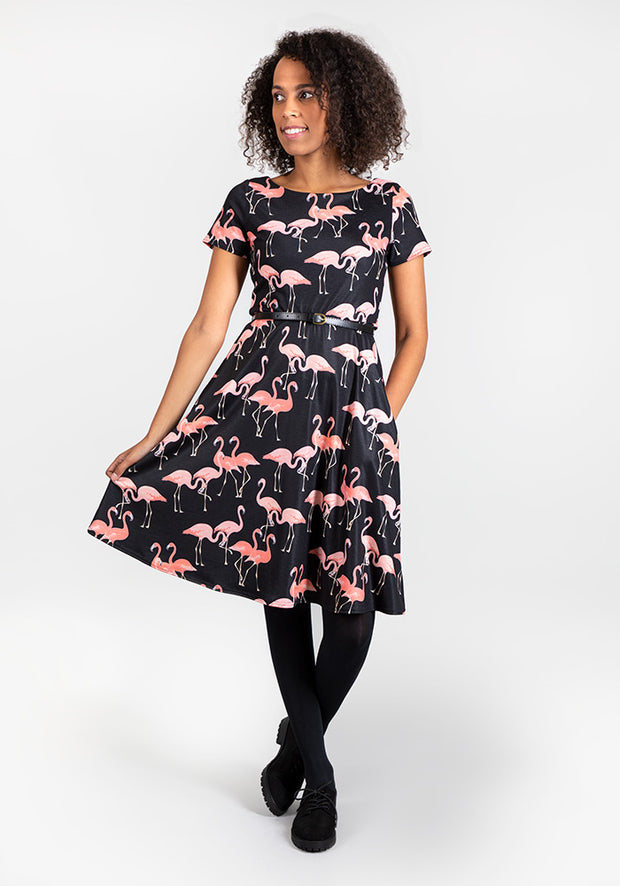Kate Flamingo Dress