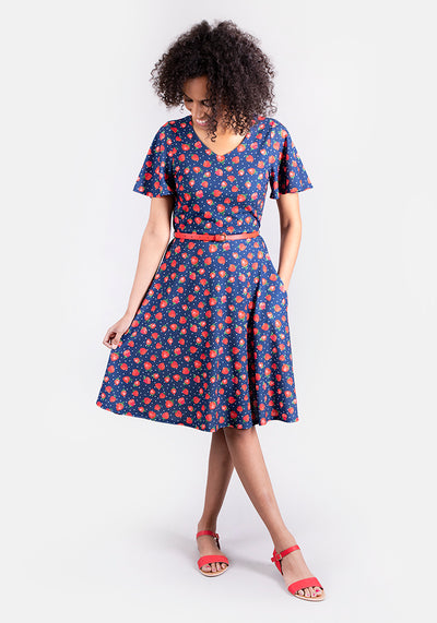 Sienna Strawberry Print Dress