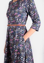 Bethany Ditsy Floral Dress
