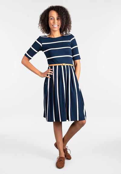 Bonita Navy Reversible Dress