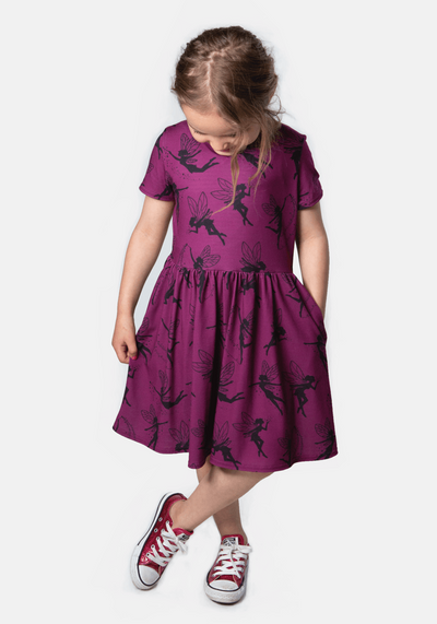 Tink Fairy Print Dress