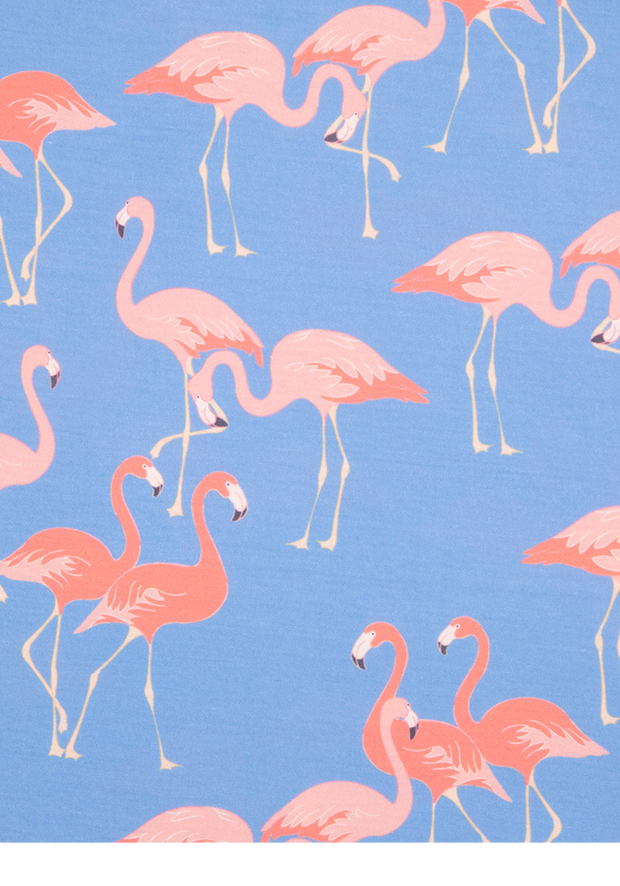 Kate Flamingo Blue