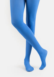 Premium 50 Denier Tights Cobalt Blue