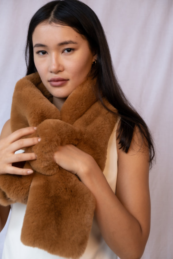 Apparis 'Bambi' Faux Fur Scarf (Est. retail $60)