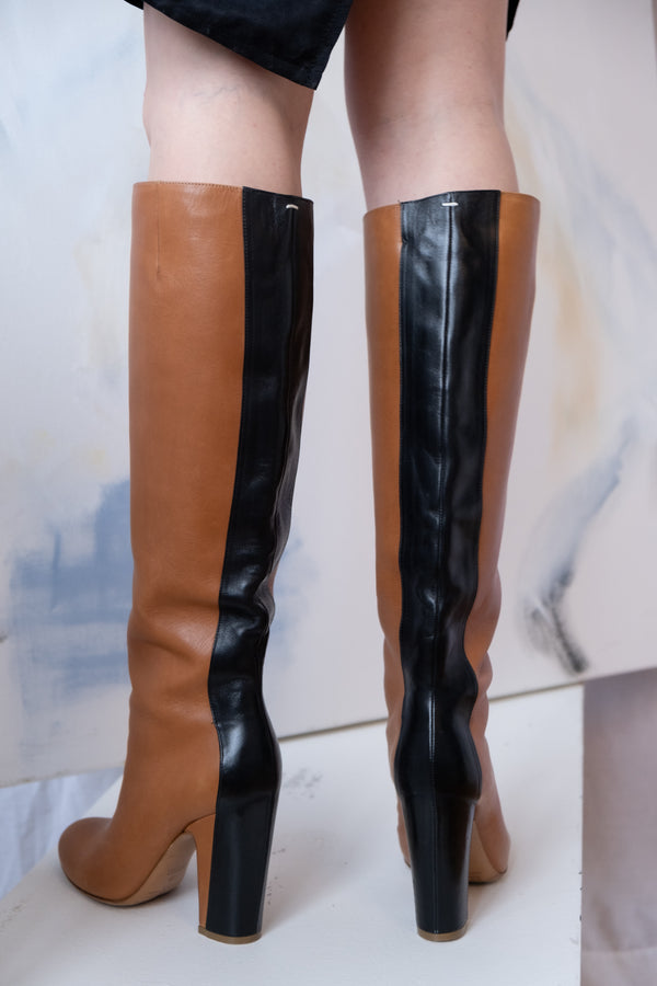 Maison Margiela Two-Toned Boots