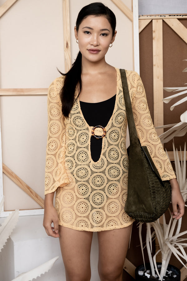 Dodo Bar Or 'Jane' Crotchet Cover Up (Est. retail $595)