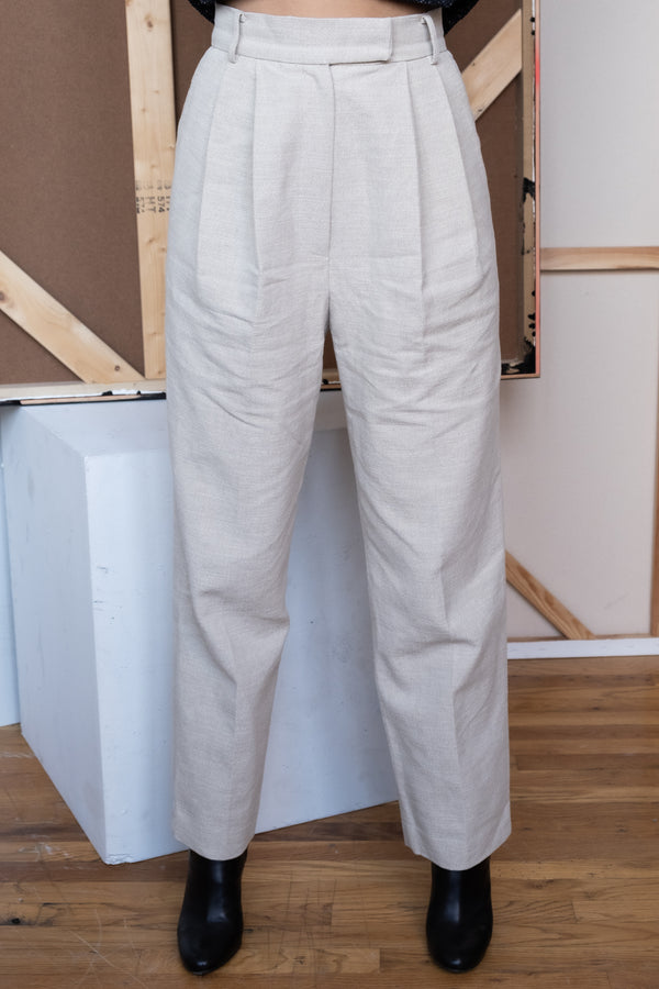The Frankie Shop Linen Trousers