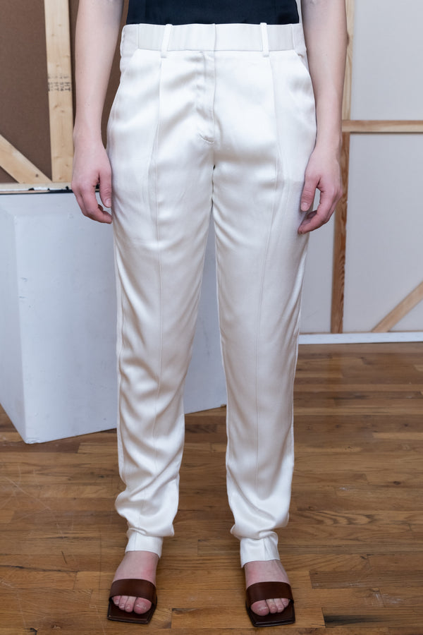 The Row Pleated Linen Trousers