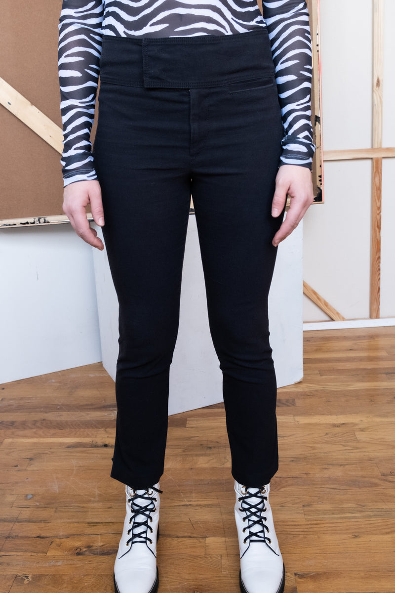 Isabel Marant Black Skinny Pants