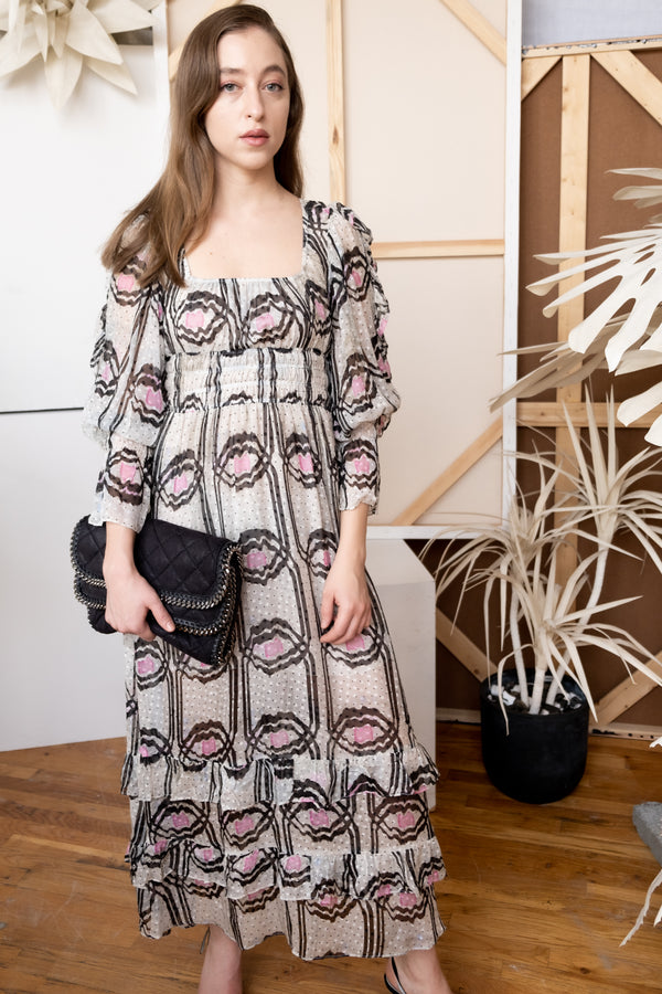Cynthia Rowley 'Jessica' Ruffle Maxi Dress | New with tags (Est. retail $575)