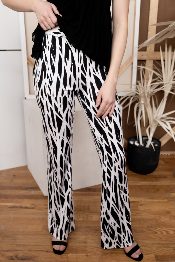 Diane Von Furstenberg Printed Silk Pants | New with tags (Est. retail $365)