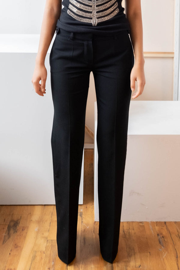 Chloé Black Wool Pants