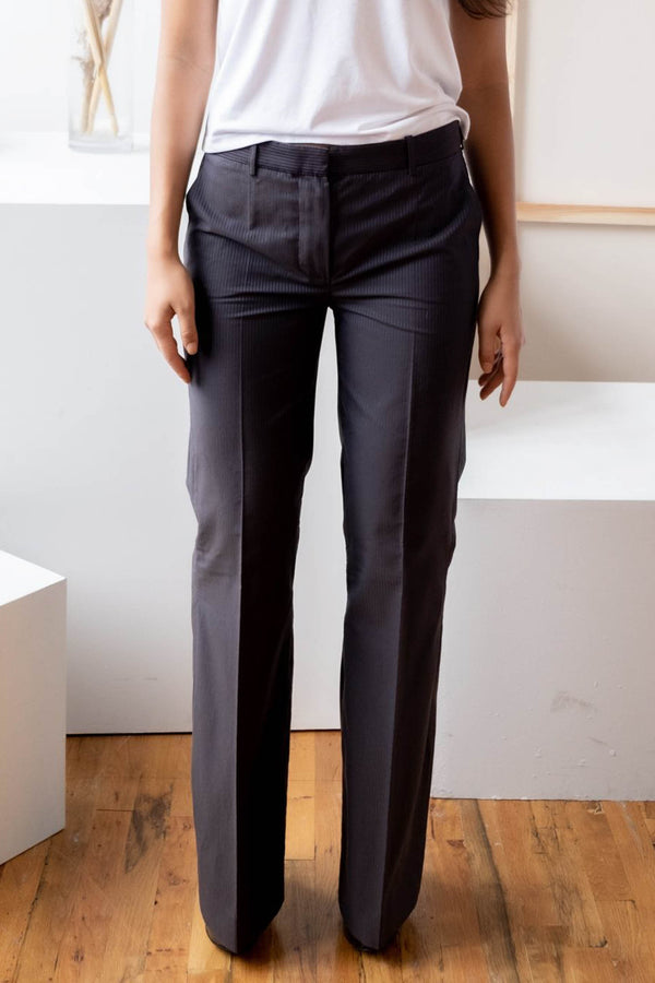 Chloé Pinstripe Cotton Pants
