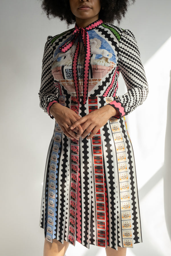 Mary Katrantzou Printed Knee-Length Dress