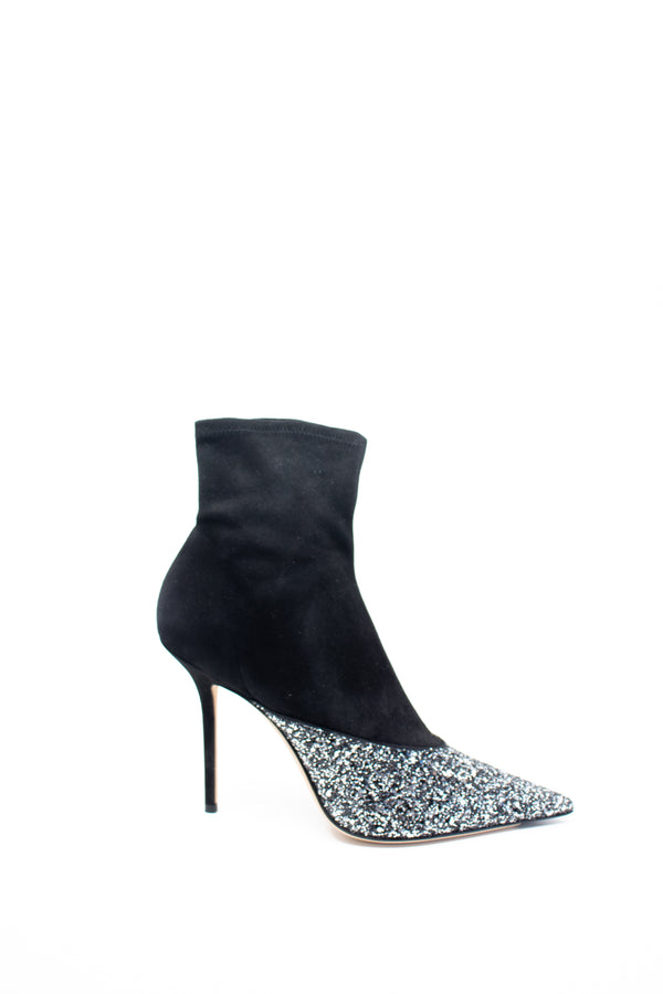 Jimmy Choo Embellished Pointed Toe Booties