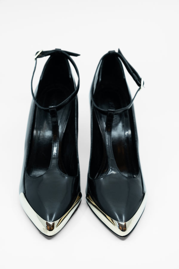 Jason Wu Collection Polished Leather Pumps (Est. retail $1,155)