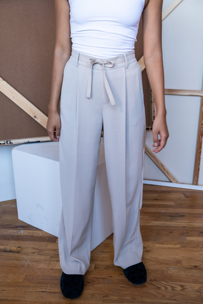Vince Wide Leg Crepe Pants