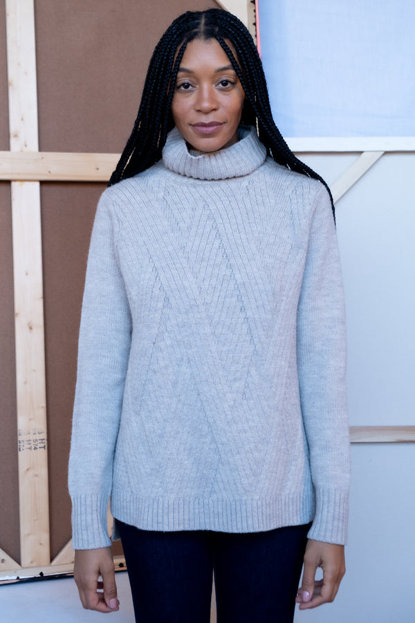Vince Mock-Neck Sweater