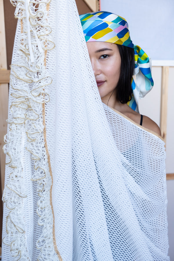 My Beachy Side 'Tekomkaf' Crocheted Cover Up | New with tags (Est. retail $295)