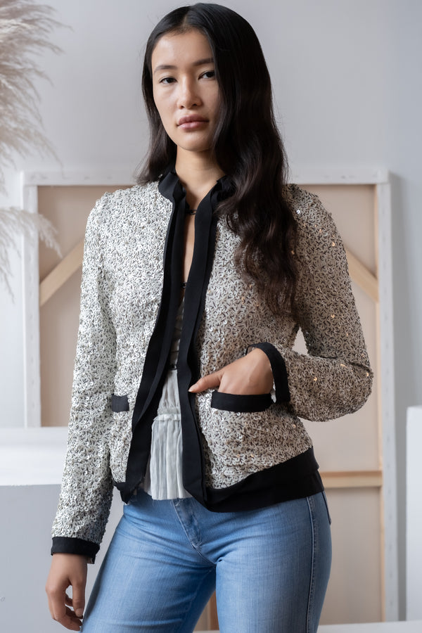 Lanvin Sequin Jacket
