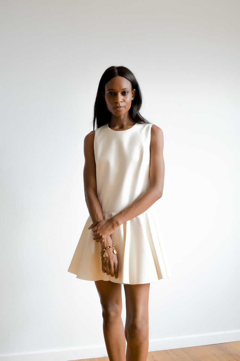 Cynthia Rowley Ivory Mini Dress