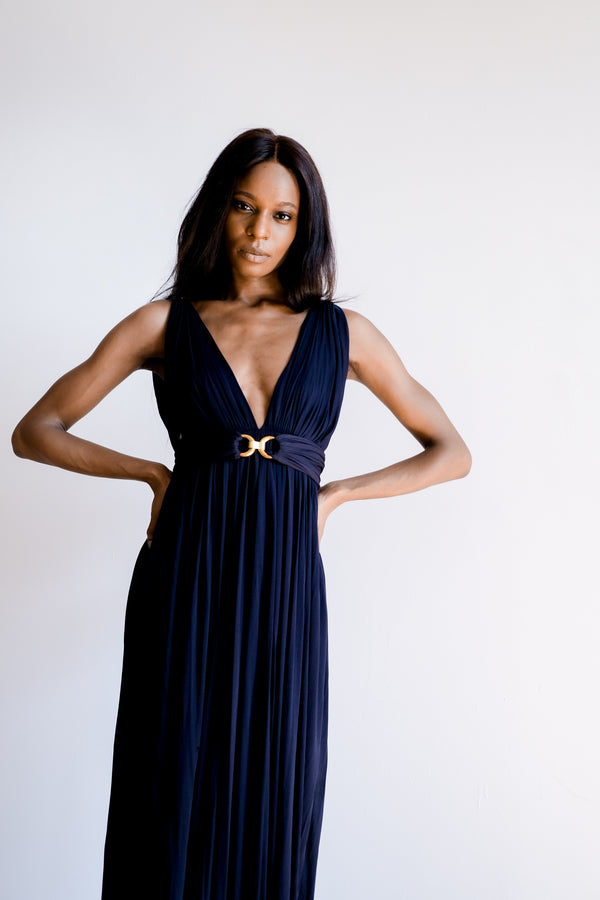 Yves Saint Laurent Jersey Gown