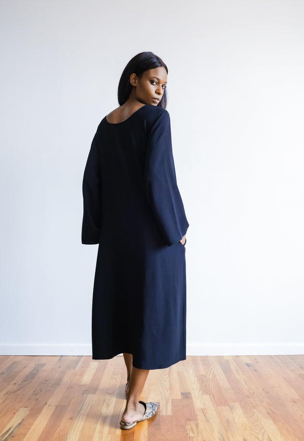 The Row Silk Midi Dress