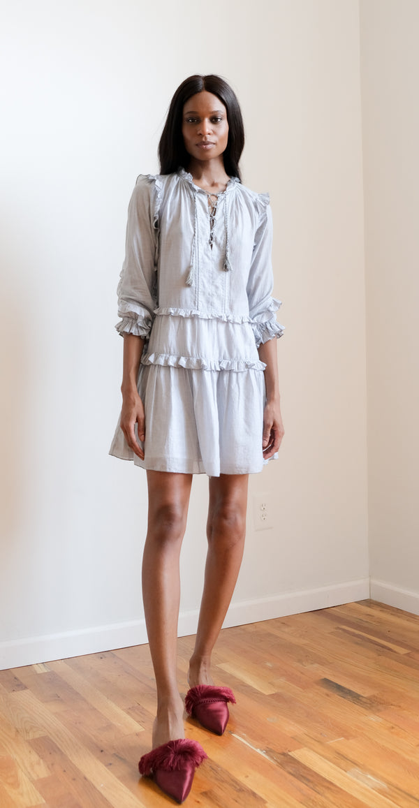 Ulla Johnson Cotton Mini Dress