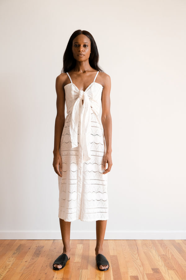 Johanna Ortiz Eyelet Dress | new with tags