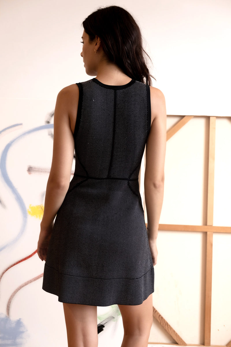 A.L.C. Black Knit Dress