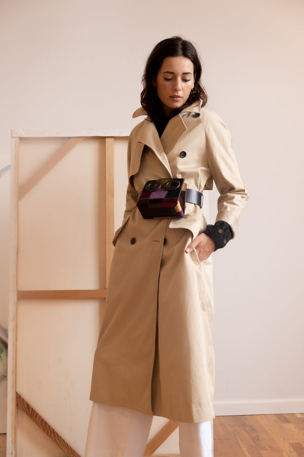 Martin Grant Classic Trench Coat | New with tags (est. retail $1,665)