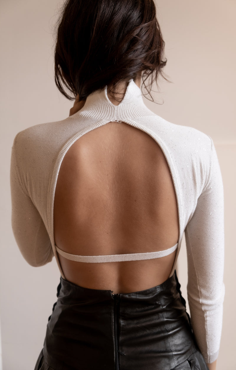 AREA Embellished Body Suit | New with tags (Est. retail $595)
