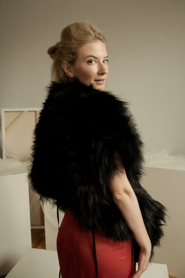 Marni Fox Fur Wrap