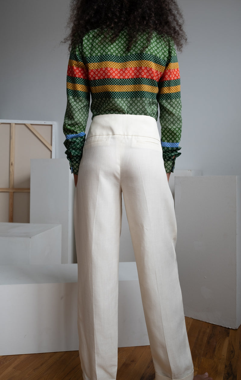 Victoria, Victoria Beckham Linen Pants | New with tags (est. retail $515)