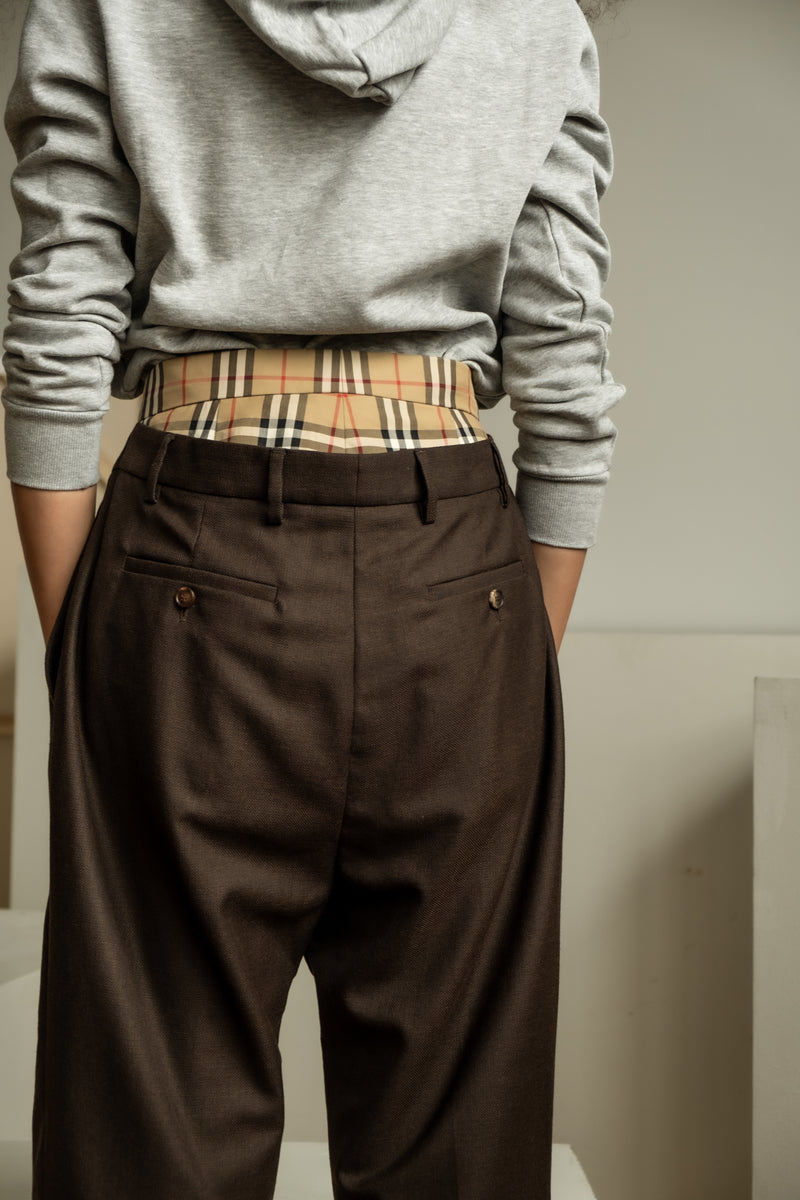 Burberry Double Layer Wool Trouser (est. retail $1,090)