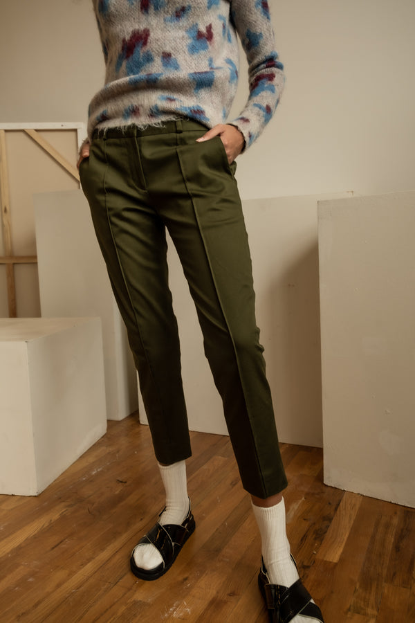 Victoria Beckham Cotton Trousers