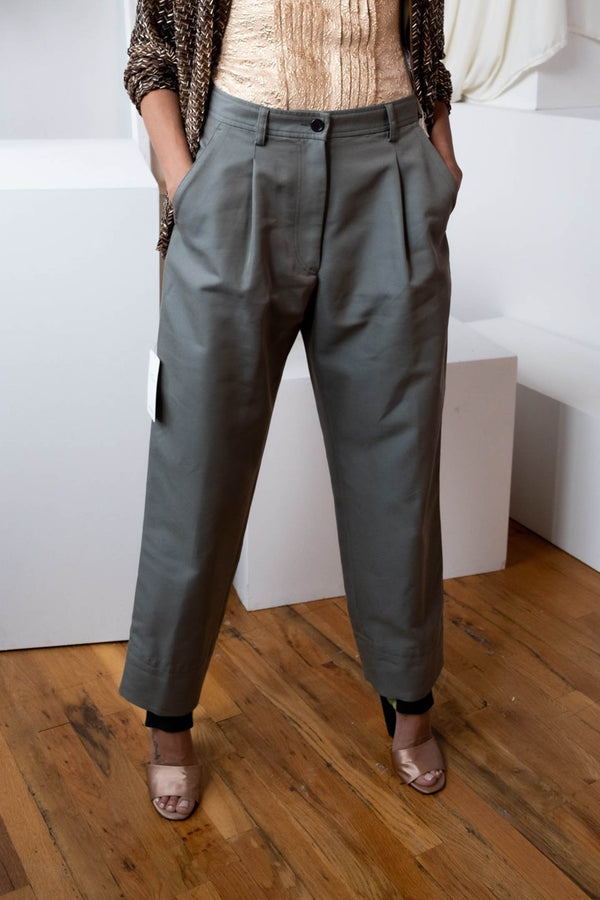 Dries Van Noten 'Pointello' Iridescent Trousers | New with tags (est. retail $557)