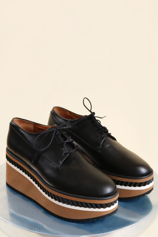 Robert Clergerie Black Oxford