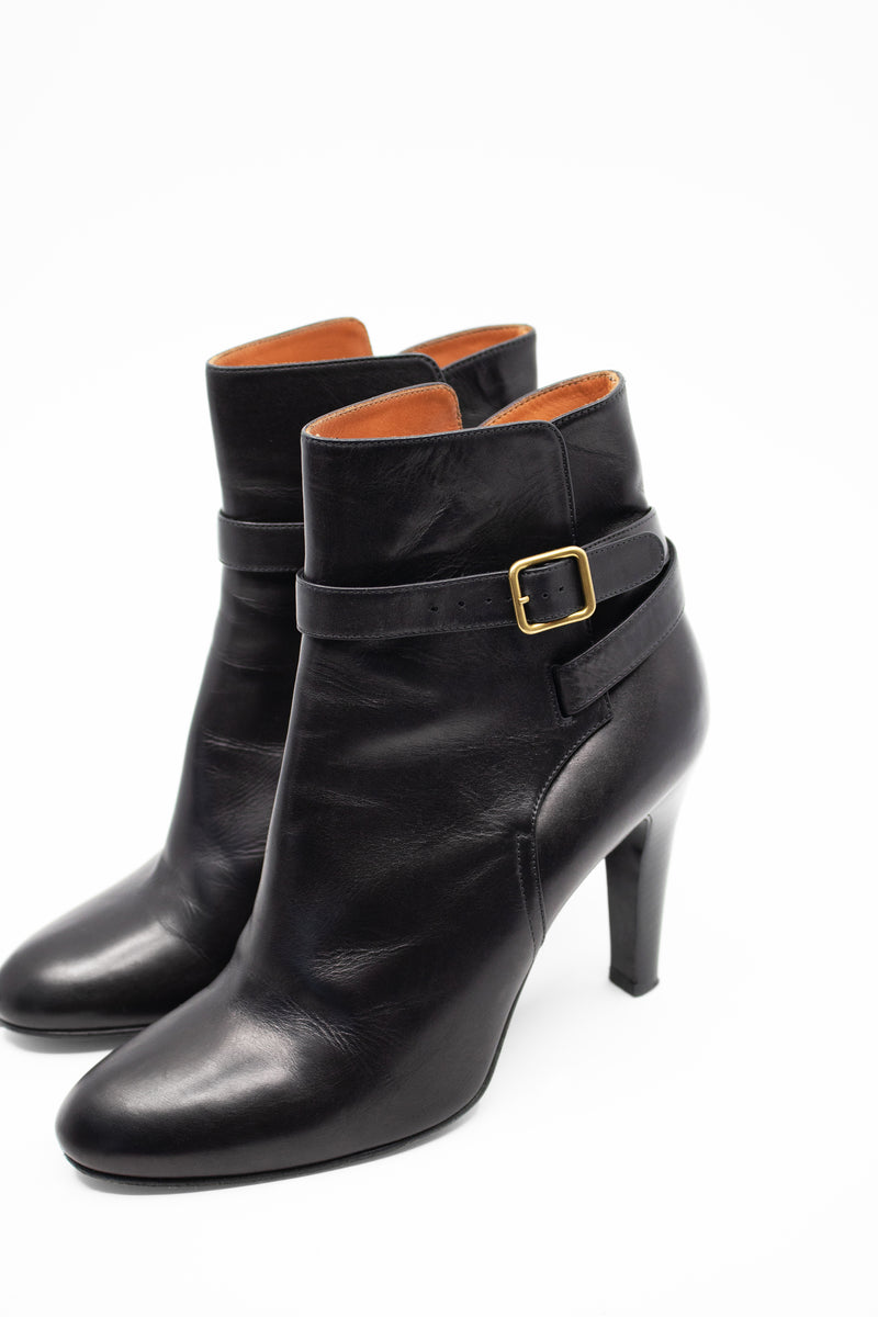 Michel Vivien Leather Booties