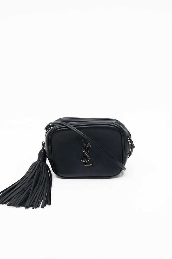 Saint Laurent Mini Monogram 'Blogger' Leather Bag