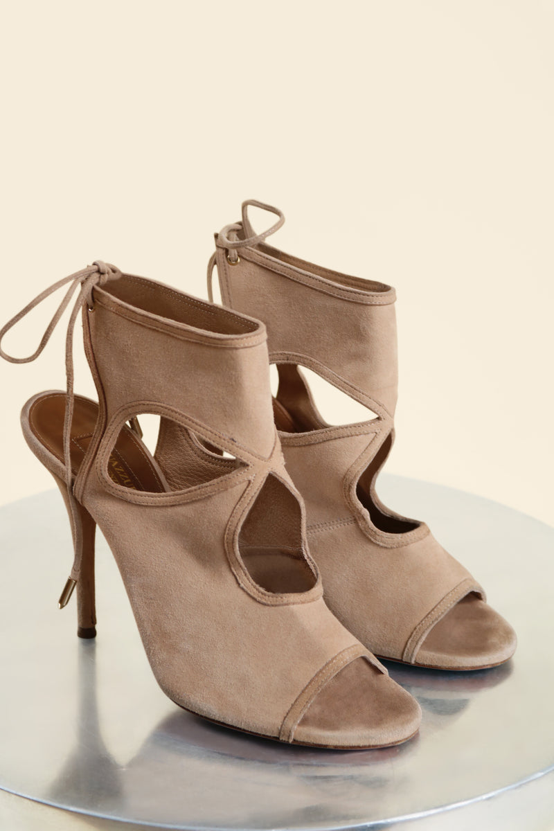 Aquazzura 'Sexy Thing' Cutout Bootie (est. retail $495)